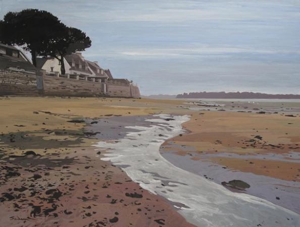 Jacques GODIN - 18 Marée montante Ile Tudy