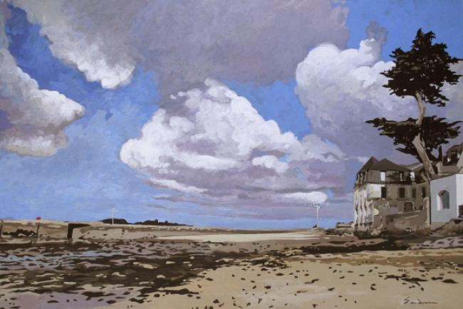 Jacques GODIN - 18 Nuages Port de Loctudy