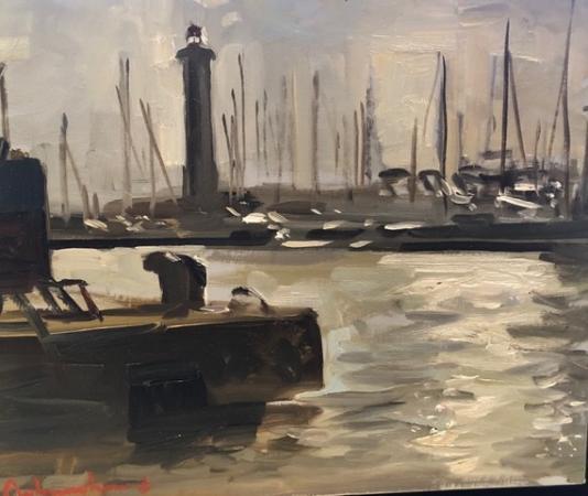 Christoff DEBUSSCHERE - 18 le port de Sète