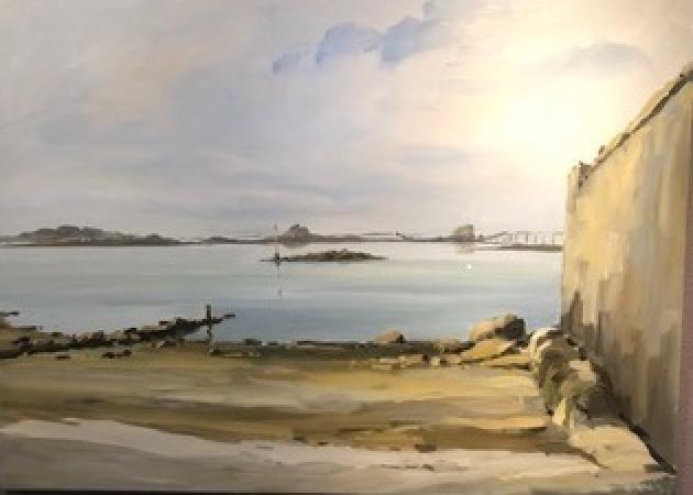 Stephane RUAIS - 18 Vue sur le pont de Normandie