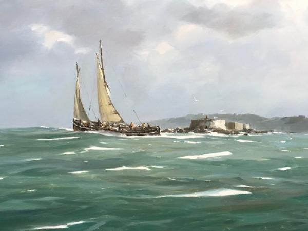 Stephane RUAIS - 19 Côtre à St Malo