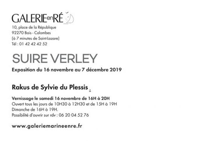 Olivier SUIRE-VERLEY - vernissage