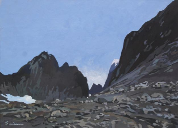 Jacques GODIN - 2020 Ascension du Malunasortoq, 22 x 30 cm