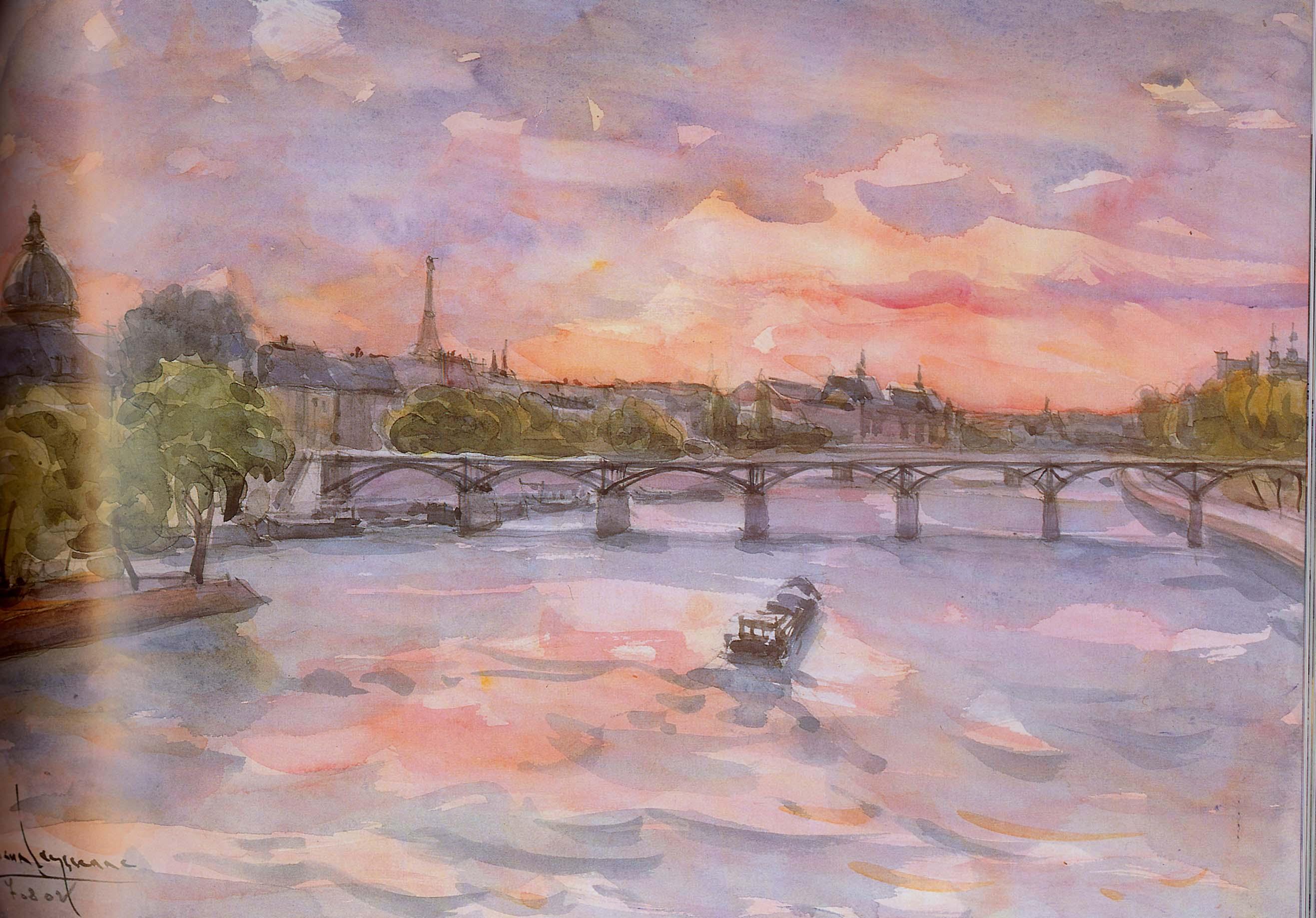 Jean LEYSSENNE - Pont des Arts