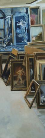 Christoff DEBUSSCHERE - Musée des années 30 gauche 150X50