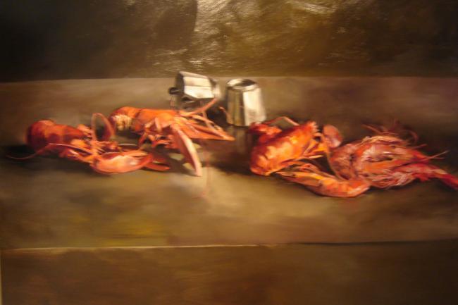 Christoff DEBUSSCHERE - Les homards et gambas vendu