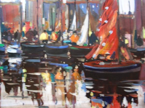 Olivier SUIRE-VERLEY - Le port de La  Rochelle 81X61