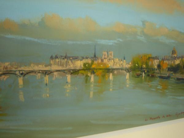 Jacques  COQUILLAY - La paserrelle des Arts
