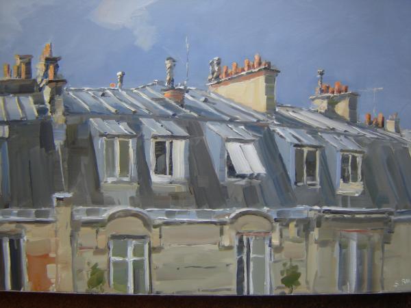 Stephane RUAIS - Les toits de Paris