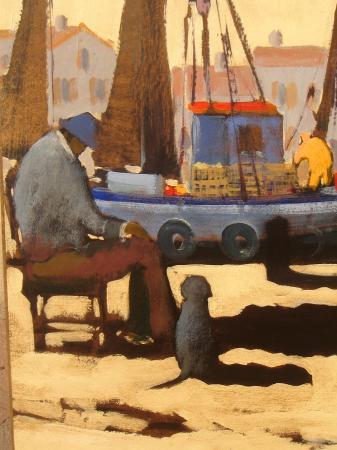 Olivier SUIRE-VERLEY - Sur le port