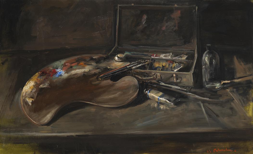 Christoff DEBUSSCHERE - 40 - A saint Hilaire - La peinture 1 - 80M (146X89 cm)