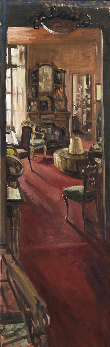 Christoff DEBUSSCHERE - 53 - Musée Cardin salon bleu - 150X50