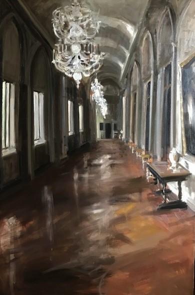 Christoff DEBUSSCHERE - 41 - Au palais Farnèse à Rome 2019 - 80P (146x97cm)