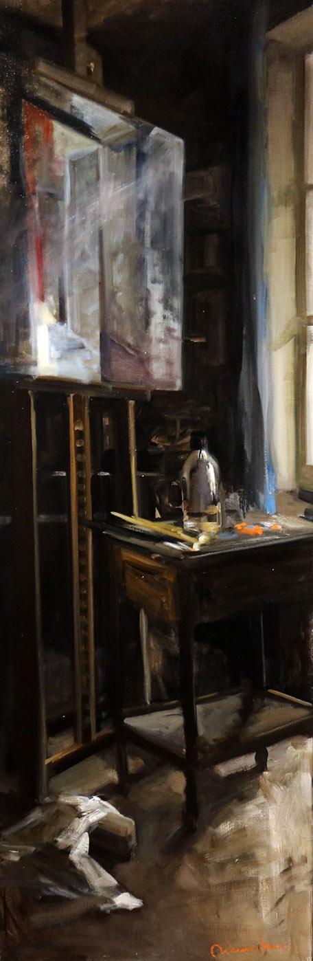 Christoff DEBUSSCHERE - 78 - La pénombre - 169X86 cm