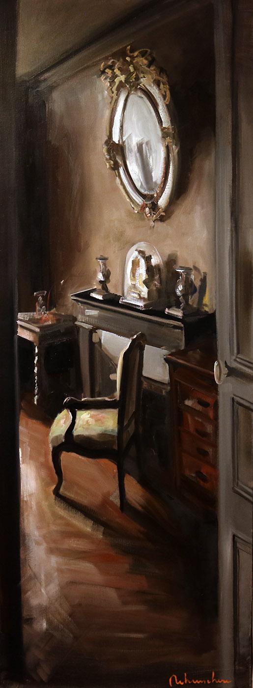 Christoff DEBUSSCHERE - 77 - La chambre a Etampes - 160X60 cm
