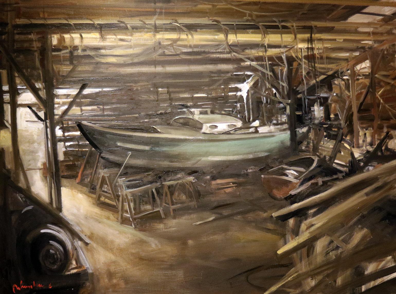 Christoff DEBUSSCHERE - 89 - Le bateau vert - 60F