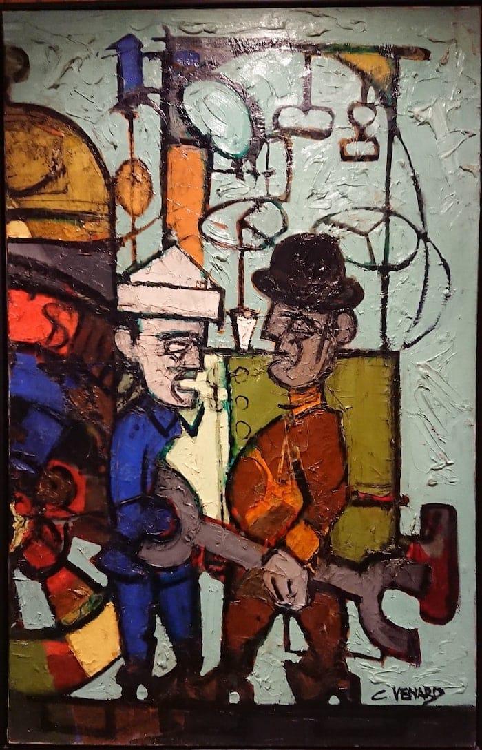 Claude VENARD | 130 x 84 cm