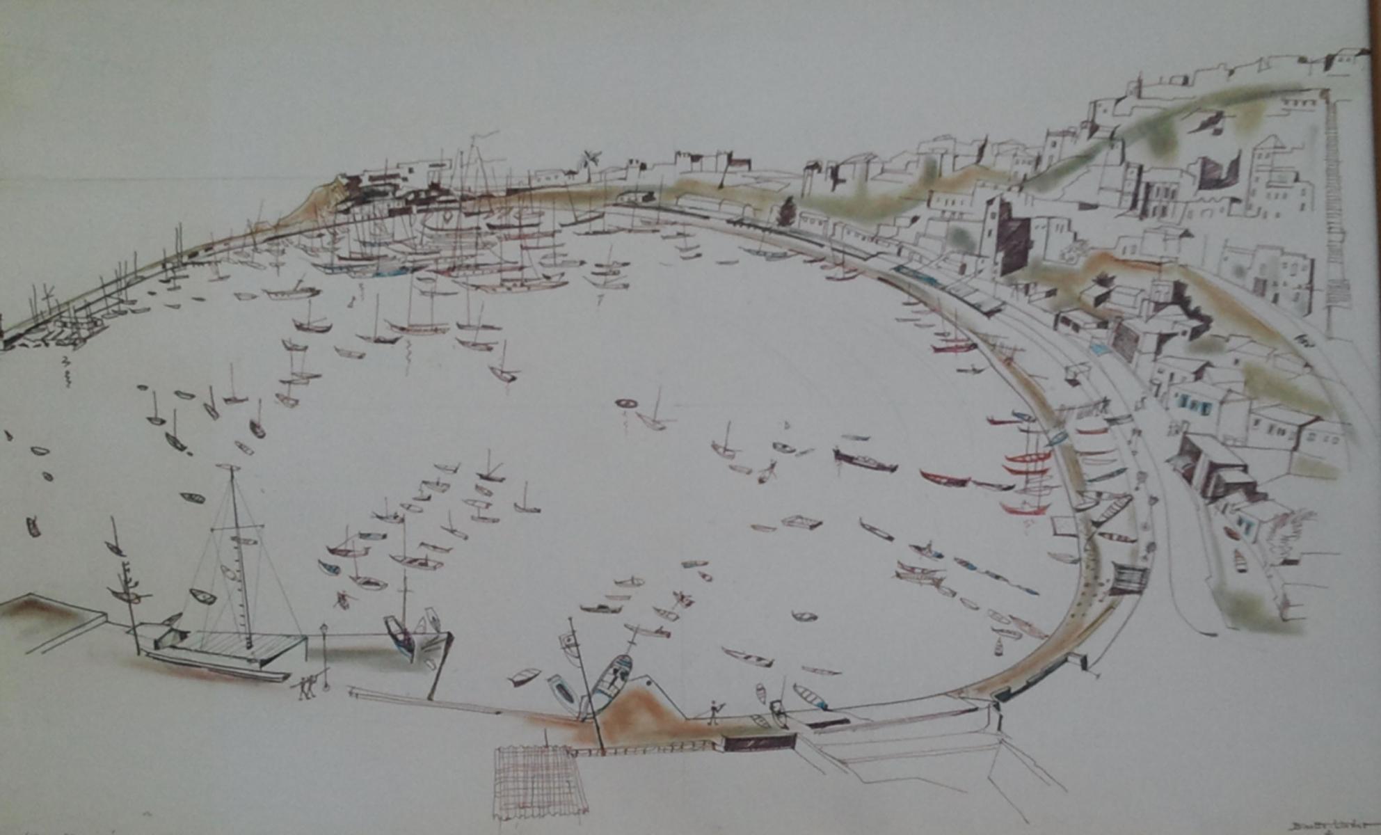 Bizette Lindet andré Port de Turko Limano Athènes