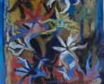 latil-yvonne- Bouquet de fleurs aux lys