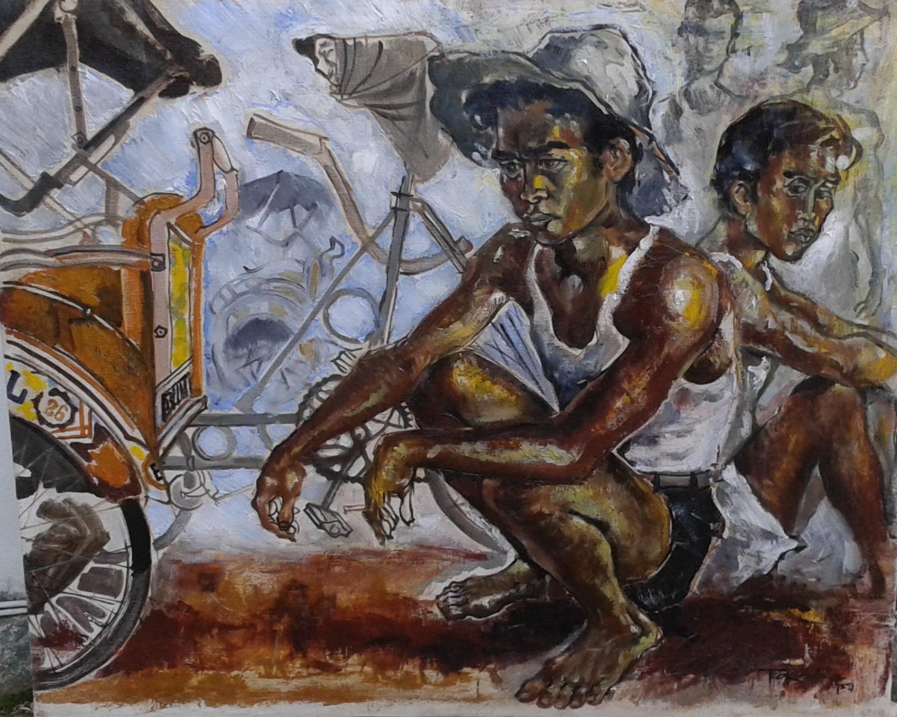 Sambodja Tio Kiem Hieu Betjaks drivers Djakarta