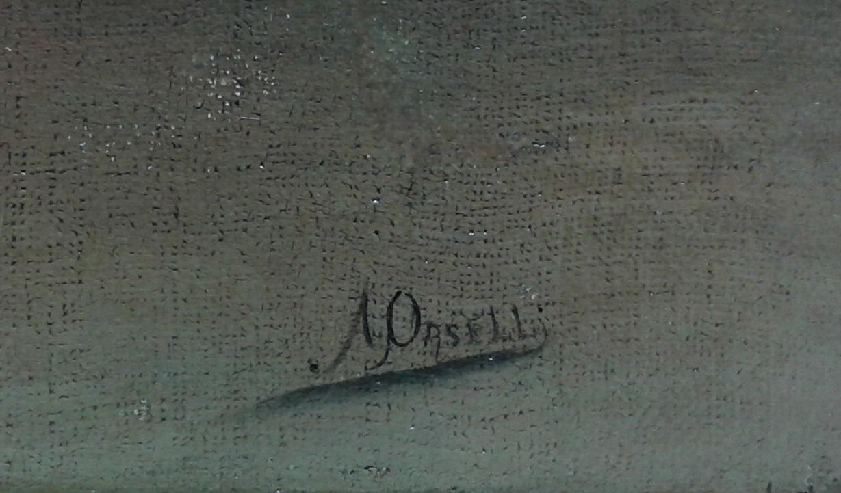 arturo orselli gentilhomme à l'épée signature