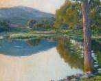 Paysage étang 1935