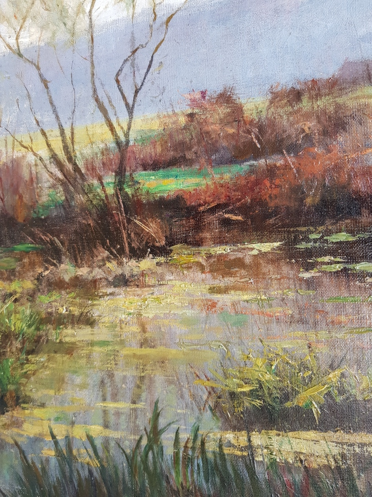 Louyot Henri paysage de Liverdun en Lorraine (2)