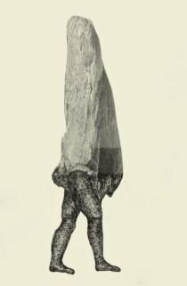Faire-face -Encre-et-collage.-21X30-cm