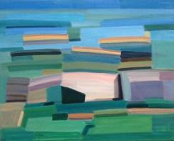 2017, Rasmussen, Les pierres, 65x80 cm, huile sur toile