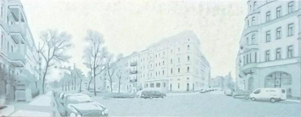 2011, Alff, Leipzig, Gravure couleur, 31x80cm