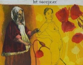 2012, Mair, Het voorjaar, Gravure couleur, 20x25 cm