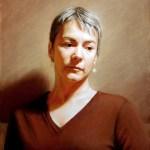 Portrait à l'huile sur commande: Annie