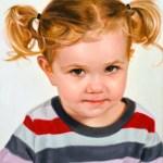 Portrait commandé: Little Miss V