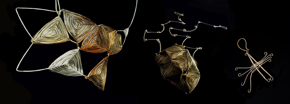 Necklaces and earring - Lena Franolić 2011
