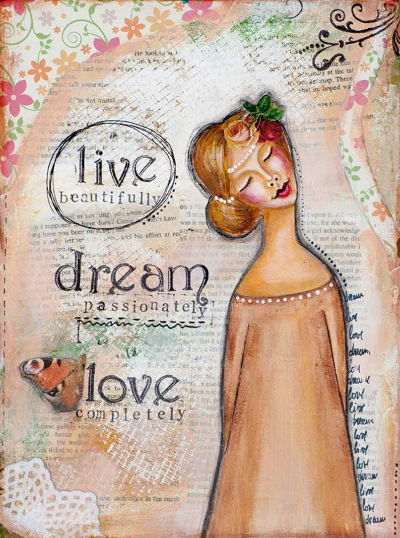 SLKA LIVE DREAM LOVE-LADY ART TALK 1