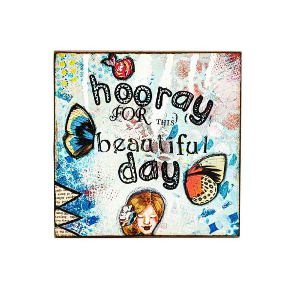 MAGNET BEAUTIFUL DAY-LADY ART TALK