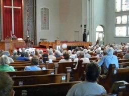 "Audience at ""Harriet Tubman"" presentation"