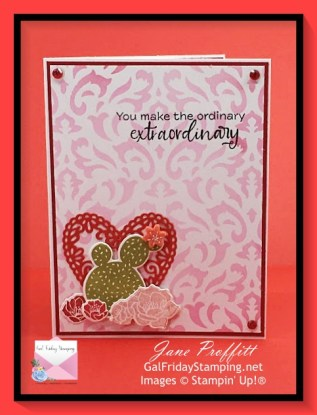 Flowering Cactus Product Medley and Simple Saturday card.