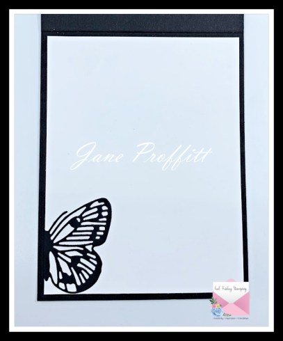 I did not forget the inside of the card, I kept it simple so that you could write a sentiment of love.