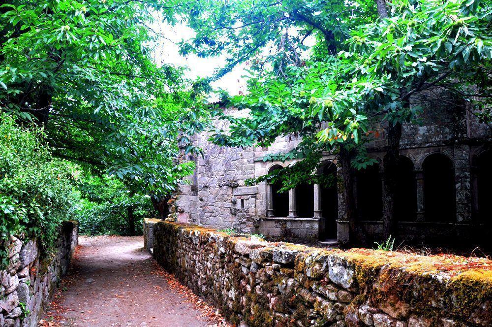Acceso al Monasterio. Santa Cristina de Ribas de Sil, Ourense