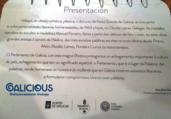 """51 Páxinas das Nosas Letras"" en el Centro Galego de Barcelona"