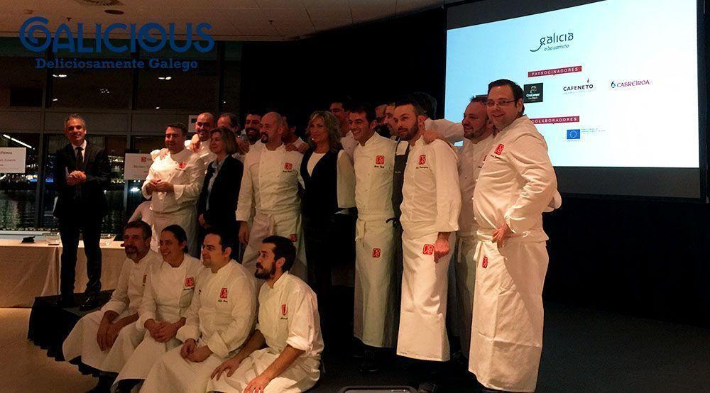 """Cociñeiros del Grupo Nove ( Foto de """"100 cosas imprescindibles que hacer en Galicia"""" ) By Galicious"""