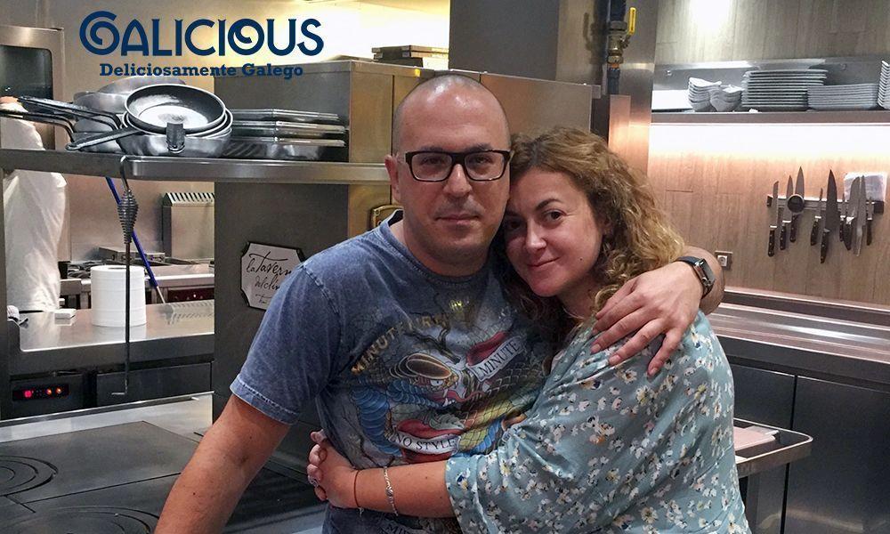 Con Manu Simôes. La Taverna del Clínic ( Barcelona )