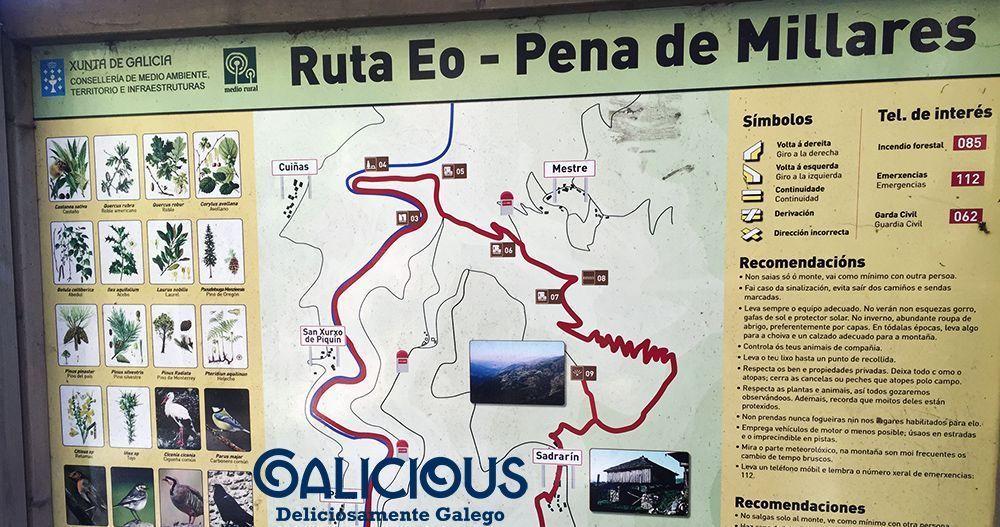 Pena de Millares ( Ribeira de Piquín, Lugo )