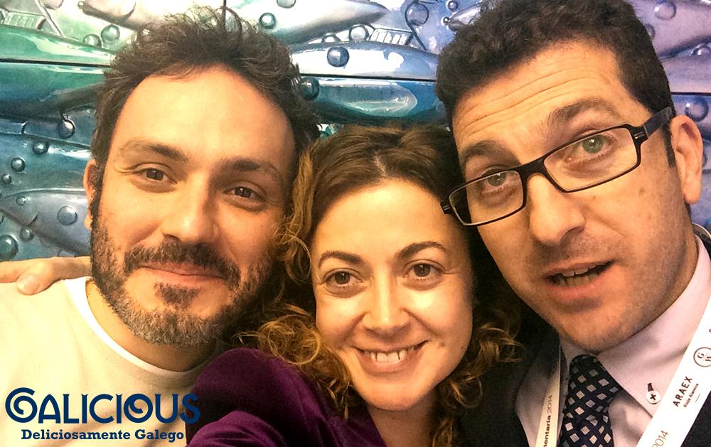 Alimentaria 2014 con Manoel y Xavi