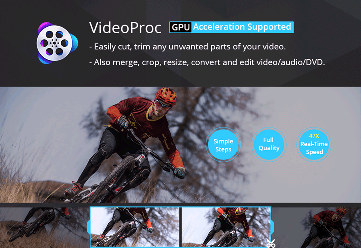 Image result for How to cut videos with VideoProc