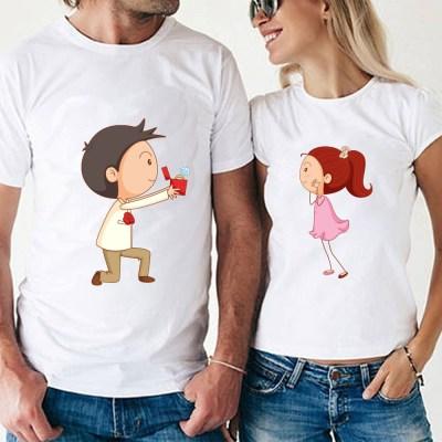 proposal white couple