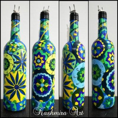 Doodle Art Bottle
