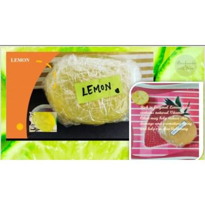 Handmade organic Lemon soap