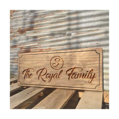 Personalized Custom Name plate